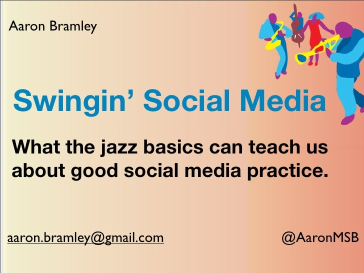 Swingin Social Media - Aaron Bramley