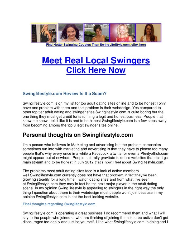 swingers and their lifestyle essay I wanted to find out what it is about swinging that keeps happily married women in the lifestyle.