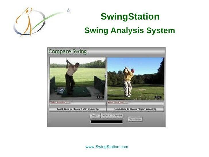 SwingStation Golf Swing Analysis