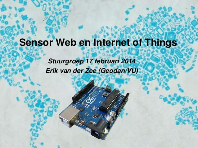 Sensor Web and IoT and the role of Geography