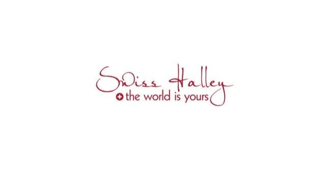 Swiss Halley business-presentation. World Travel Club!