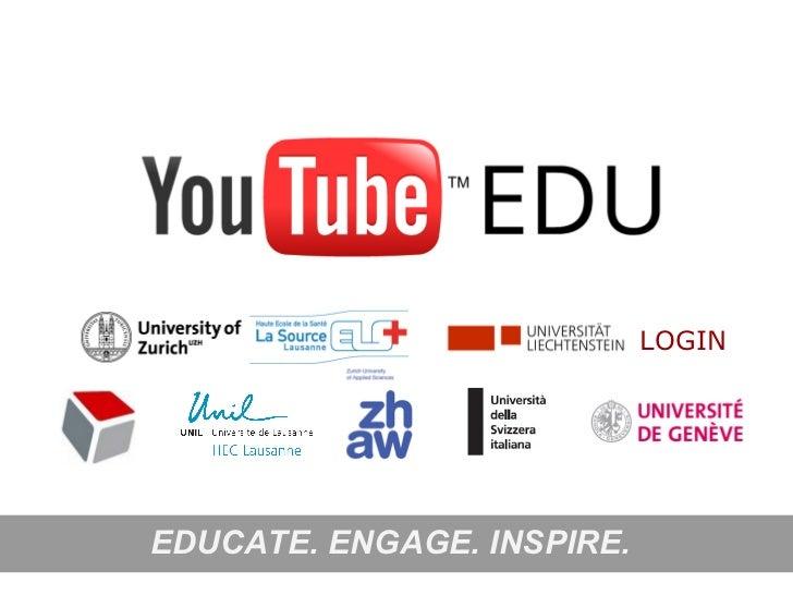 YouTube EDU presentation