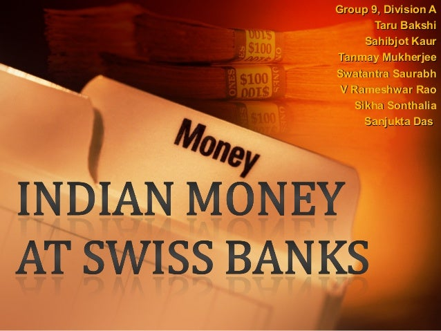 Indian Money at Swiss Banks