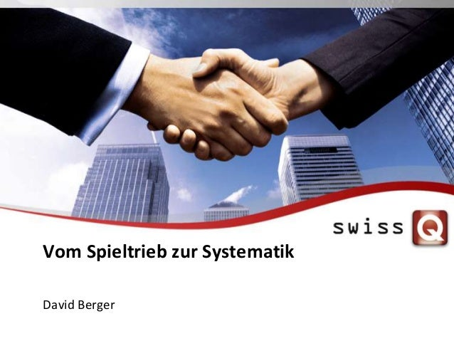 Vom Spieltrieb zur Systematik David Berger