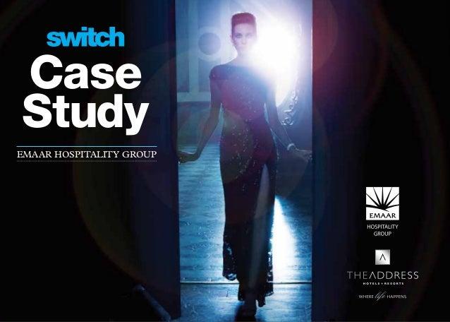 Switch case study Emaar Hospitality Group - English