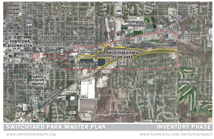 Switchyard Park Master Plan | Inventory Phase