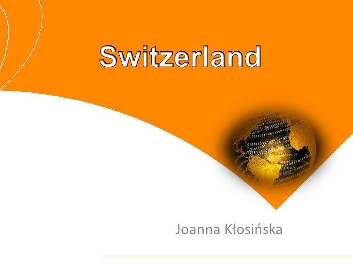 Joanna Kłosińska