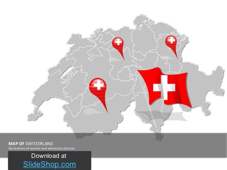 Switzerland map