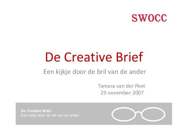 Tamara van der Peet: De creatieve brief