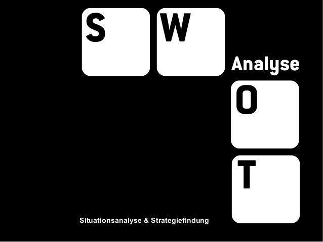 S                    W                                       Analyse                                       O              ...