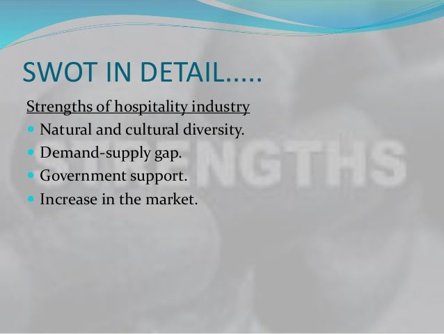 gap analysis hospitality industry Iv perspective analysis of emerging sectors 1 bridging the industry- academia skill gap a conceptual investigation with special emphasis on the.