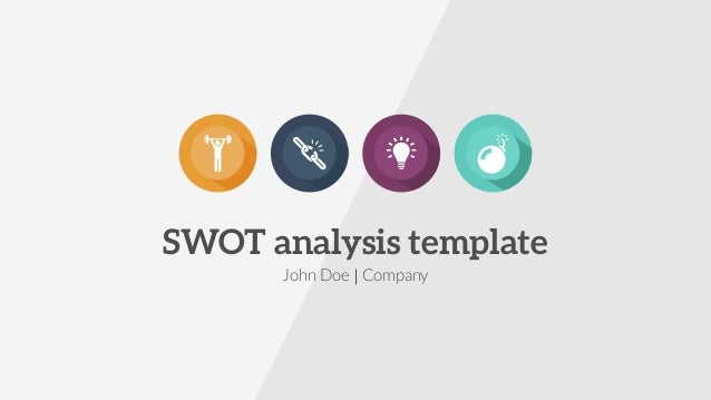 swot analysis presentation