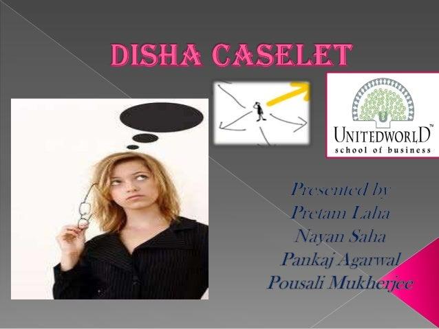 Swot analysis of disha caselet