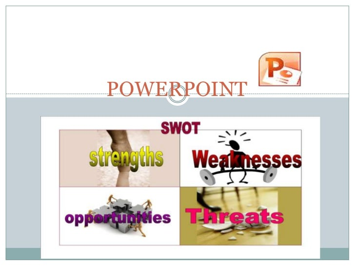 Swot on powerpoint