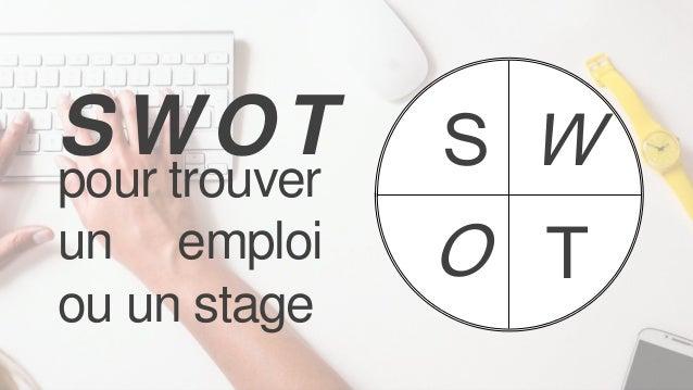 S W O T pour trouver un emploi ou un stage SWOT