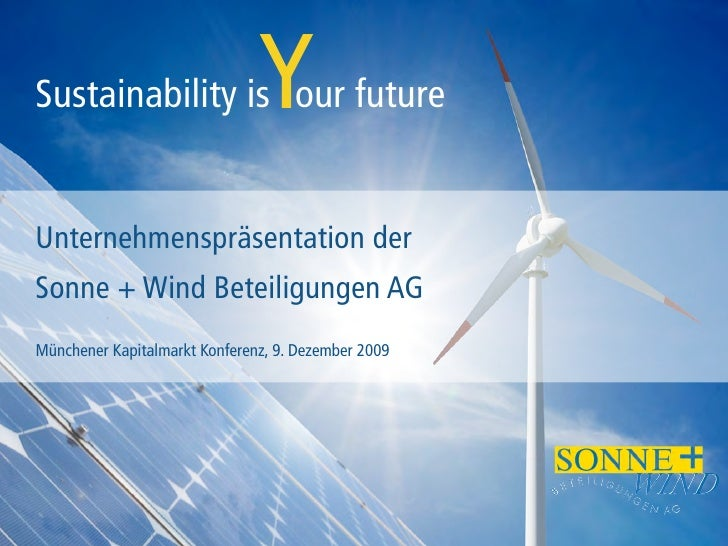 Sonne+Wind Presentation