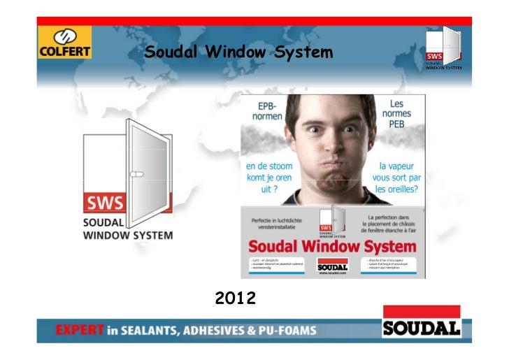 SWS - Soudal Window System