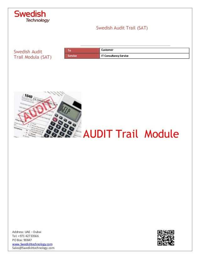 Swedish_Technology_Audit_Trail