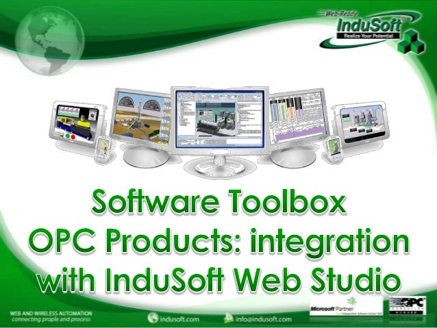Connectivity Solutions with InduSoft Web Studio and Software toolbox.