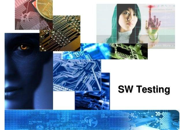 Sw testing