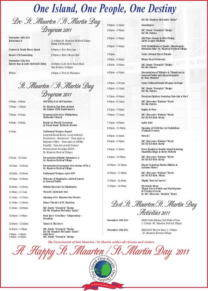 Sxm day program 2011