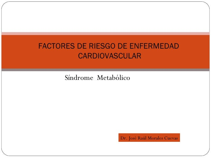 Sx MetabóLico PrevencióN