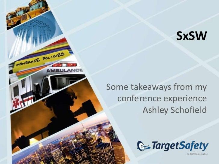Sxsw presentation