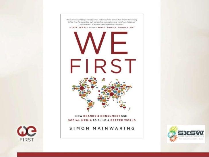 We First: SXSW Book presentation