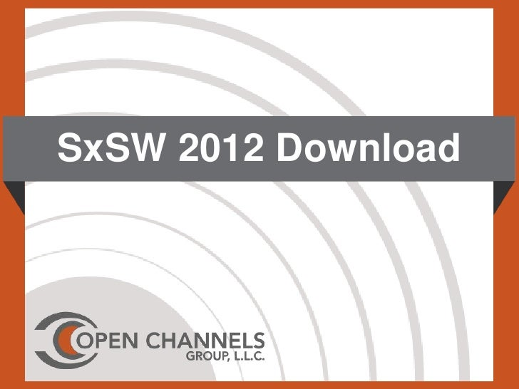 SxSW 2012 Download