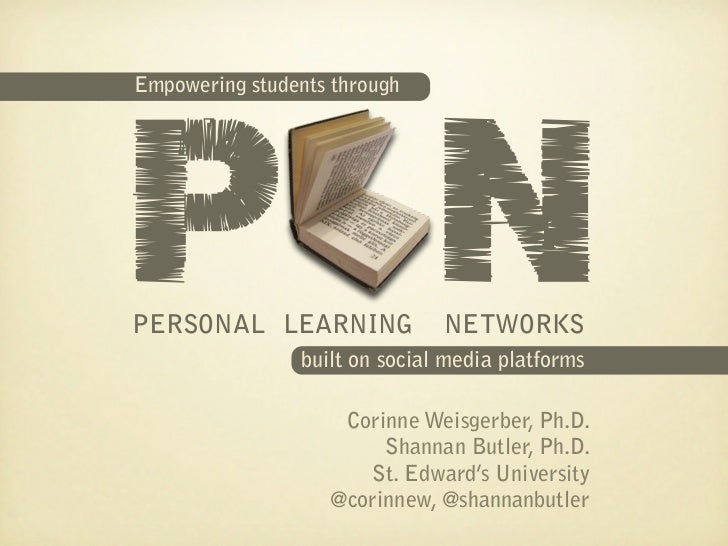 Empowering students through personal learning networks