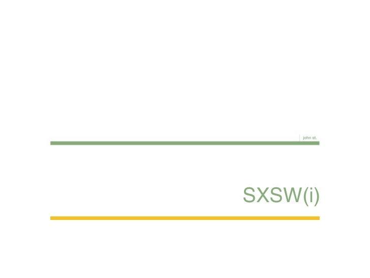 SXSW(i)