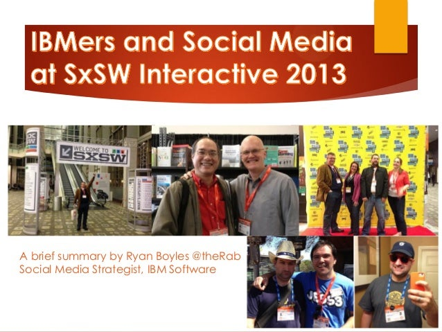 IBMers at SxSW 2013