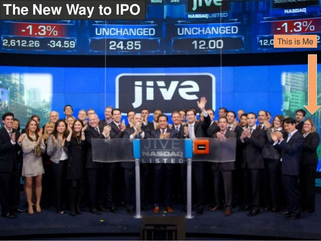 This is MeThe New Way to IPO