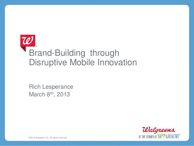 Rich Lesperance - Brand Building Through Disruptive Mobile Innovation (SXSW Opening Keynote)