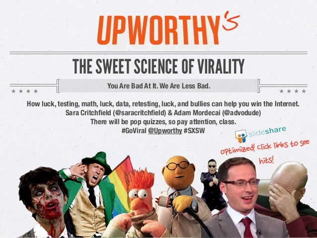 The Sweet Science Of Virality