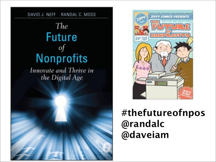 The Future of Nonprofits : SXSW Presentation