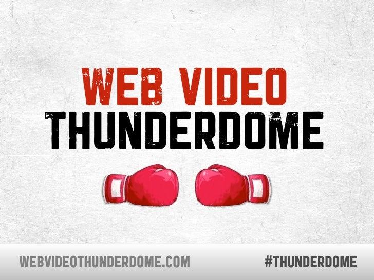 Web Video Thunderdome - SXSW 2010