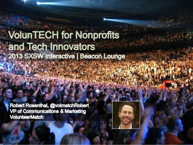 VolunTECH for Nonprofits and Tech Innovators