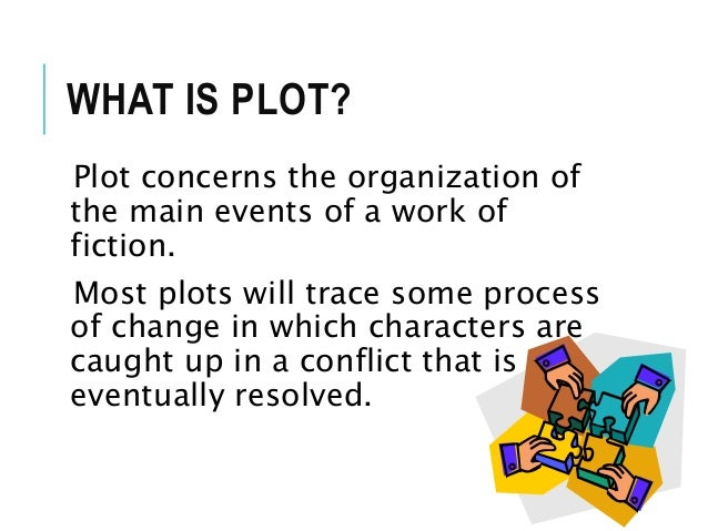 What are the main elements of plot?