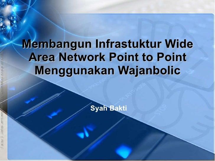 Membangun Infrastuktur Wide Area Network Point to Point Menggunakan Wajanbolic Teknik Komputer Jaringan SMK Putra Anda Bin...