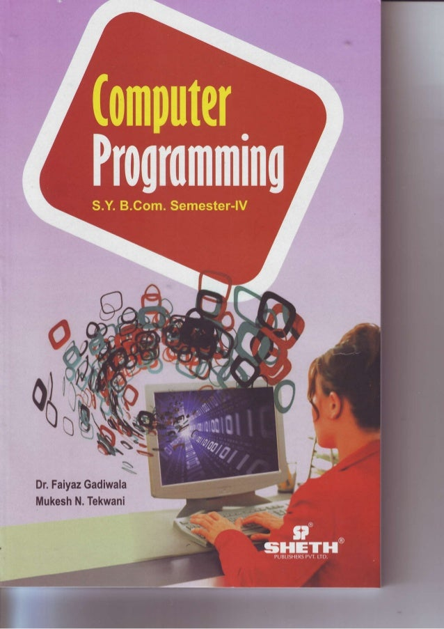 SYBCom Sem 4 Computer Programming