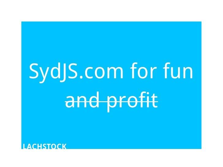 SydJS.com
