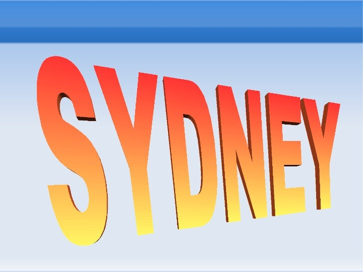 GEOGRAPHICAL ASPECTSSydney is the most popular city in Australia and the state   capital of New South Wales. Sydney is loc...