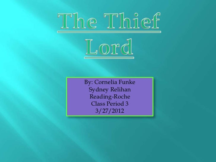 Thief lord book report