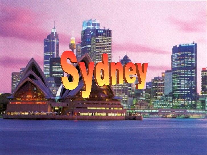 Sydney powerpoint