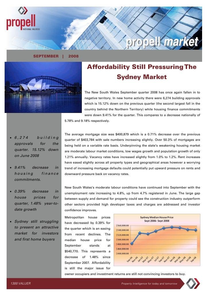 propell market               SEPTEMBER |         2008                                                   Affordability Stil...
