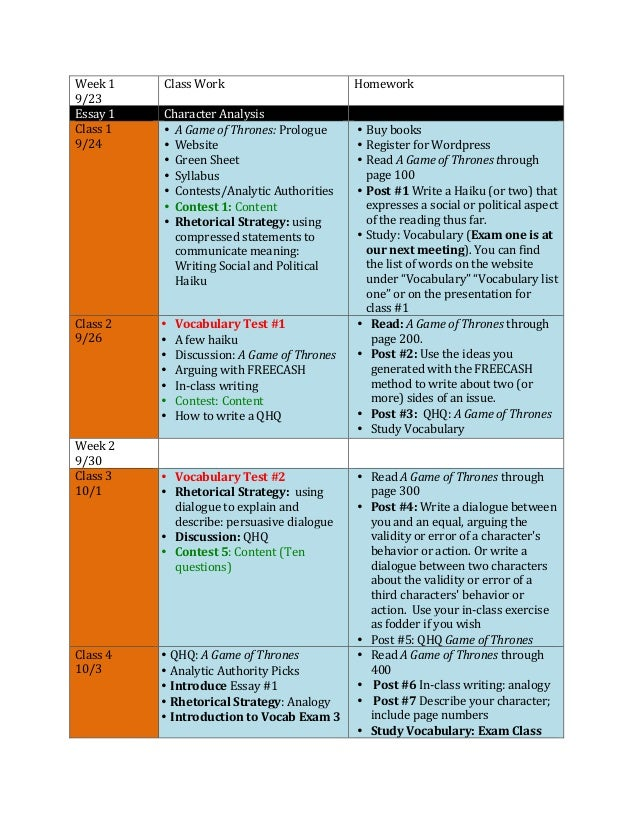 Syllabus ewrt 2 fall 2013