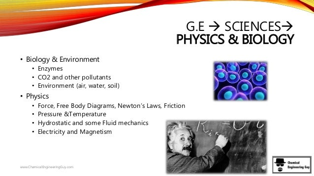 How much physics is in chemical engineering?