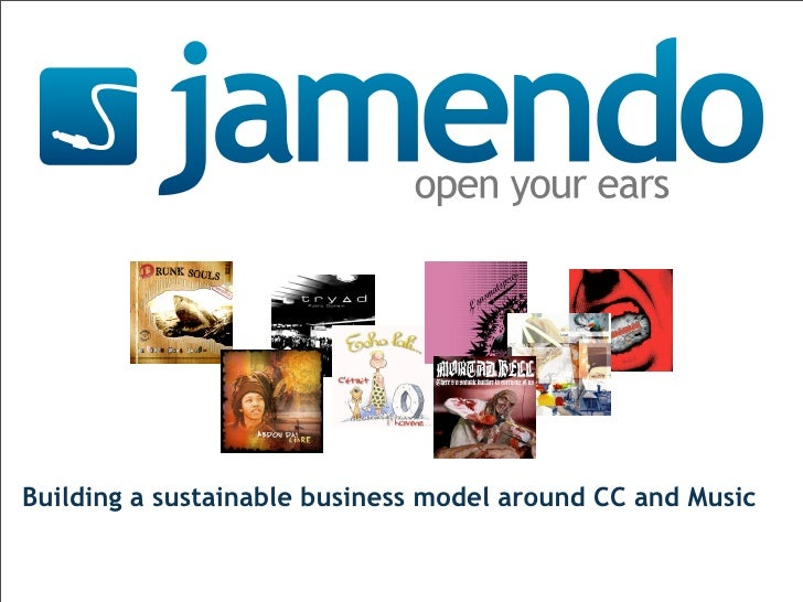 Building a sustainable business model around CC and Music