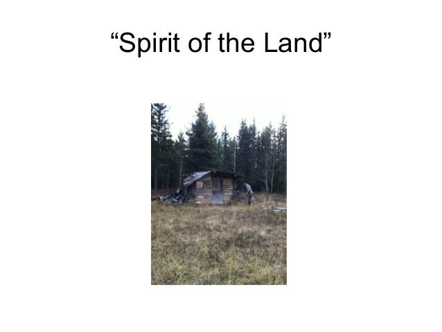 Spirit of the Land: Sylvia McAdam's PowerPoint shown at Elements of Justice